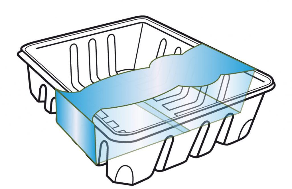 full wrap tray